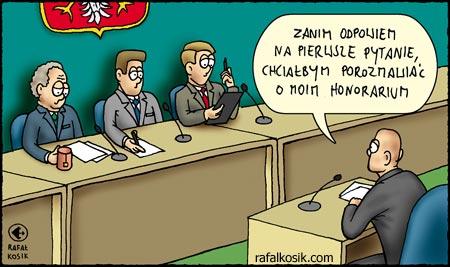 Przed komisją