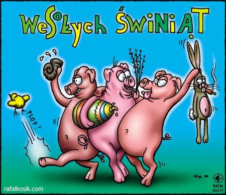 Wesołych świniąt