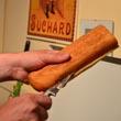 Normandzki hot dog z frytkami