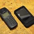 Porównanie HTC HD2 w futerale Otterbox Defender z telefonem Nokia 6250