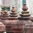 Widok z Wat Arun na Menam i Wielki Pałac
