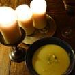 Zupa krem z cukinii z serem blue
