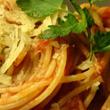 Spaghetti z sosem pomidorowym