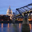 Millennium Bridge i Katedra Św. Pawła