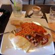 Wypas-śniadanie angielskie w Le Scandale