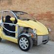 Przewiewny samochód w Sienie