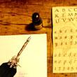 Nocna lekcja kaligrafii