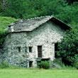 Domek, jeszcze po włoskiej stronie Alp
