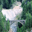 Budowanie linii kolejowych w Alpach to musi być niezła zabawa