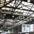 Victoria Station - blaszany barak wkomponowany w zabytkowy dworzec
